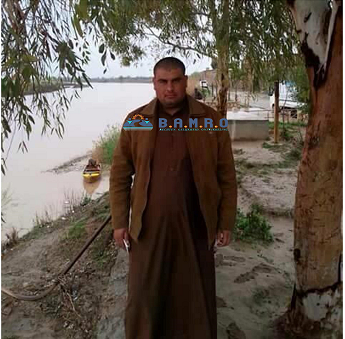 The execution of the Iraqi citizen Caesar Jumaili  by the terrorist organization Daesh