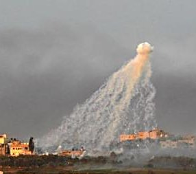 the danger of using white phosphorus on the lives of civilians in conflict zones